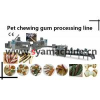 Buy cheap pet chewing gum processing line/dog chewing bones machine/pet food machine from wholesalers