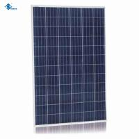 Buy cheap Chinese 36V 300W Poly transparent glass solar panel for Residential Solar Power Panels ZW-300W from wholesalers