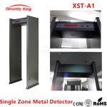 Buy cheap Metal Detector archway for airport hotel security metal scanner gate Metal Detector door single detecting zones XST-A1 from wholesalers