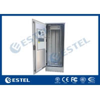 Buy cheap Thermal Insulated 42U Outdoor Telecom Enclosure IP55 DC48V Air Conditioner Cooling from wholesalers