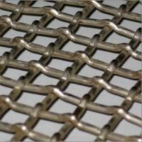 China Crimped wire mesh, made of stainless steel/iron, used in coal/mine and building on sale