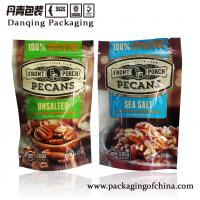 China Felxible Packaging, Vivid Printed Stand Up Pouch With Zipper And Open Notches, Dry Food Packaging Bag on sale