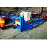 Buy cheap 380v 50hz Standing Seam Metal Roof Machine , Roofing Sheet Making Machine from wholesalers