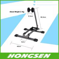 Buy cheap High grade card front wheel bicycle parking storage bracket from wholesalers