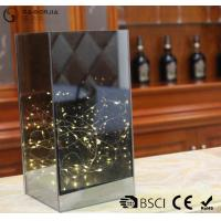 Wholesale Dark Brown Flat Glass Led Lights With ON / OFF Function WB-014 from china suppliers