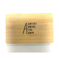 Buy cheap Mifare 1K Engraved NFC Wooden Business Cards Digital Printing from wholesalers