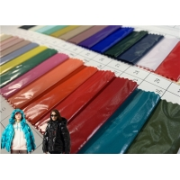 Buy cheap 100%Nylon Bright PU Coating Oil Resistant Easy Care Winter Jacket Fabric from wholesalers
