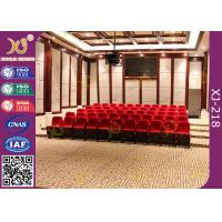 Buy cheap No Noise Dampening Return Auditorium Chairs Ultra - Soft Customized Design from wholesalers