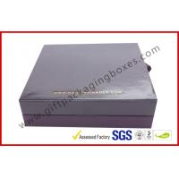 Buy cheap Embossed Paper Jewellry Gift Boxes with Golden Aluminum Foil Bracelet Boxes from wholesalers