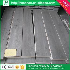 Waterproof Uniclic Click System WPC PVC Interlocking Vinyl Plastic Floor Tile Manufactures