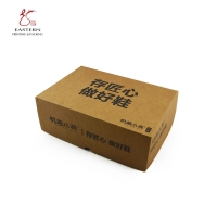 Buy cheap Logo Printed 157gsm Kraft Paper Corrugated  Shoe Box For Sports Shoes from wholesalers