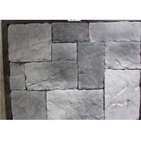 Durable Faux Stone Wall Tiles , Faux Stone Veneer Exterior / Interior Wall Decoration Manufactures