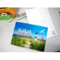 Buy cheap cheap price flip 3d lenticular postcards landscape pictures 3d lenticular printing postcard for sale online from wholesalers