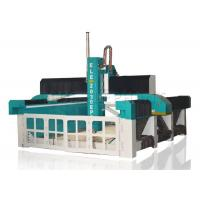 Buy cheap Self - Lubricating MDF Engraving Machine , Horizontal Foam Cutting Machine Large Bed Size from wholesalers