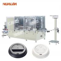 Buy cheap Custom Design 22 KW Cup Lid Forming Machine 10 - 35 Times / Min Max Cutting product