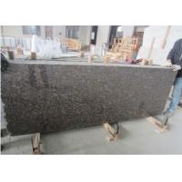Buy cheap Commercial Brown Granite Tile Slabs Multi Function Supreme Strength from wholesalers
