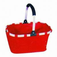 Buy cheap Utility Basket, Easy-to-carry, Made of 600D Polyester, Customized Colors and product
