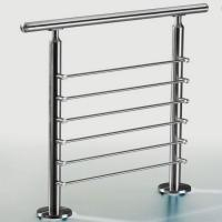 Buy cheap Modern Railing indoor balcony baluster round post stainless steel rod railing stair railing from wholesalers