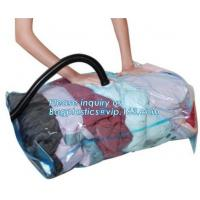 Buy cheap space saving vacuum seal containers for home storage, vacuum compression wedding dress storage bag, space saver bags from wholesalers