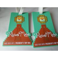 Buy cheap 3D soft PVC rubber luggage tag/rubber plastic luggage tag from wholesalers