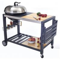 Buy cheap Outside Commercial Kitchen Equipments Charcoal BBQ Grill With Cabinet And Table from wholesalers
