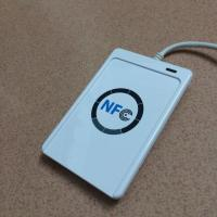 Buy cheap ACR122u nfc smart card reader support ISO/IEC 18092,ISO14443A protocol to read and write from wholesalers
