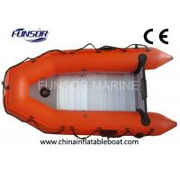 Wholesale Lightweight Aluminum Floor Foldable Inflatable Boat Two Man Inflatable Kayak from china suppliers