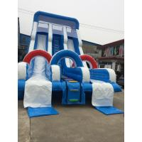 Buy cheap Outdoor Inflatable Theme Park Water Slide Giant Amusement Park Fun City Bounce House from wholesalers