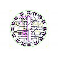 Buy cheap Single / Double Layer Aluminum Electronic Circuits PCB Layout For LED PCBA Gerber Files from wholesalers