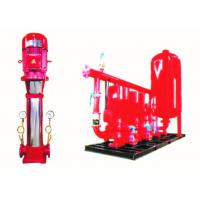 Buy cheap VFD Fire Fighting Pump Vertical Multistage Commercial Building Supply from wholesalers