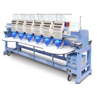 Buy cheap Popular Multi Head Embroidery Machine Bed Sheets T Shirt Socks Clothes Use from wholesalers