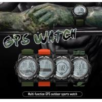 Buy cheap GPS Sports Smart Watch Waterproof Heart Rate Monitor ECG Altitude Temperature Compass Pedometer Multi-Sport Smartwatch from wholesalers