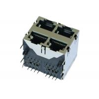 Buy cheap ARJM22A1-811-NN-EW2 Stacked RJ45 8p8c Ethernet 2x2 Ports Shielded 5G from wholesalers