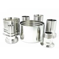 Buy cheap High Pressure Stainless Steel Hose Tails Connector  Inter Locking  BSP Threaded Pipe Socket from wholesalers
