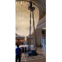 Buy cheap 10 M Aluminum Alloy Dulplex mast Aerial Work Platform Manlift Double Vertical from wholesalers