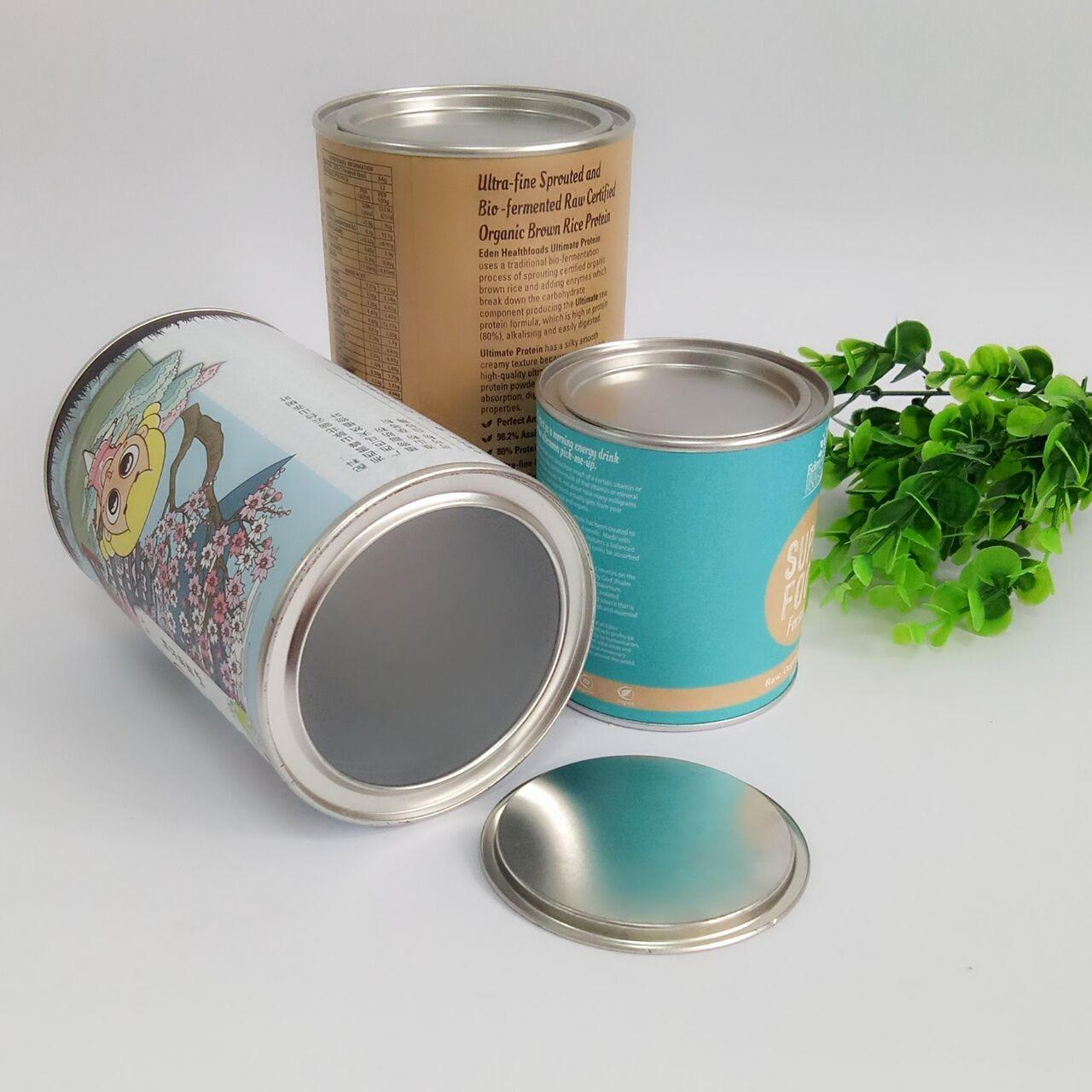 Buy cheap Hot Stamping Paper Composite Can Packaging For Chocolate Powder / Coffee Powder / Milk Powder from wholesalers