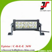 Buy cheap HOT SALE ! 7.5 Epistar 36W flood spot beam double row led light bar for cars from wholesalers
