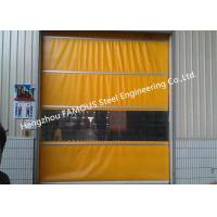 Buy cheap PVC High Speed Fabric Rolling Doors Hard Metal Frame Quick Response Doors Solution from wholesalers