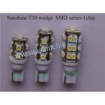 Buy cheap Sunshine car led bulbs T10 Wedge 194 W5W, T4W BA9S 44, T5 B8.5D, DOME LIGHTS FESTOON 623 C10W from wholesalers