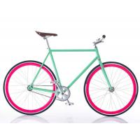 Simple Custom Decal 700C Wheel Fixed Gear Bikes Fixies For Girls / Boys Manufactures