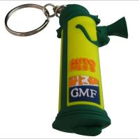 Buy cheap Water-proof 3D Soft Pvc Silicone Keychains / Soft Pvc Key Ring For Promotion from wholesalers