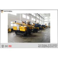 Buy cheap Hydraulic Drilling Rig / Crawler Mounted Drill Rig Hole Depth 130m from wholesalers