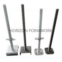 Wholesale Adjustable Screw Jack Head For Ringlock Scaffolding System Dia 48mm x 5mm from china suppliers