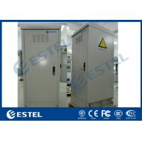 Buy cheap IP55 Outdoor Electronic Equipment Enclosures , Outdoor Data Cabinet Copper Bar from wholesalers