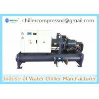 Buy cheap 80 Ton Chiller Water Cooled Screw Industrial Chiller Need Cooling Tower from wholesalers