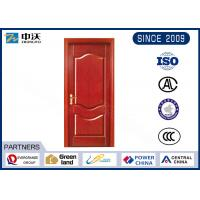 Wholesale Red Fire Resistant Interior Door , 1.0 Hour Internal Domestic Fire Doors from china suppliers
