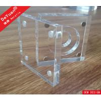 Buy cheap Souvenir Medal Transparent Acrylic Holder Stand Display Black Base from wholesalers