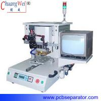 Buy cheap translatory shift  single-position hot bar welding machine with pulse heat CWPP-1A from wholesalers