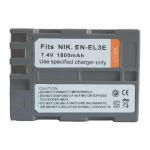 Buy cheap Battery for nikon EN-EL3e ENEL3E D300 D200 D90 D80 from wholesalers