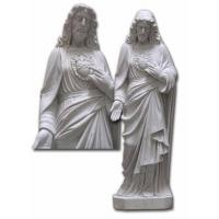 Buy cheap Marble Statue,Sculptures -Sacred Heart of Jesus from wholesalers